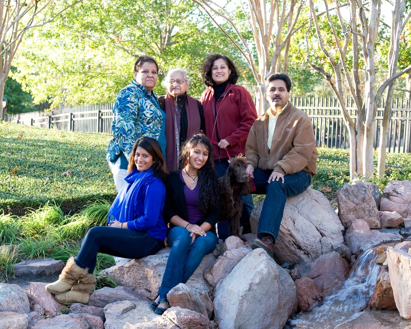 2010 Family Group at Houston