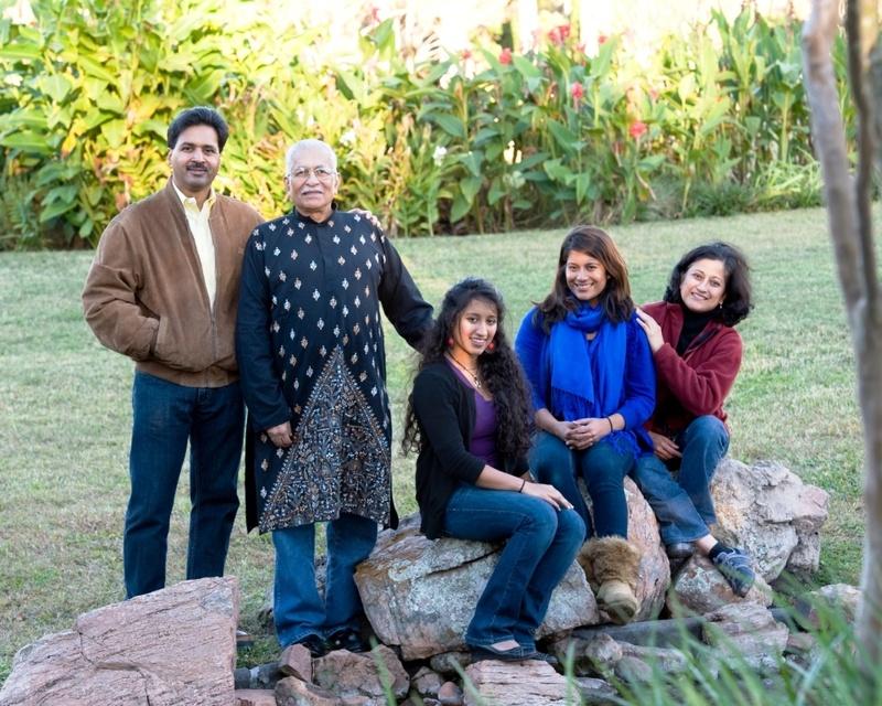 Sarkar Family Group Photo